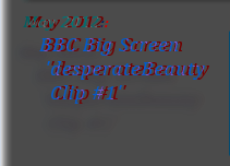 May 2012:  BBC Big Screen  'desperateBeauty Clip #1'